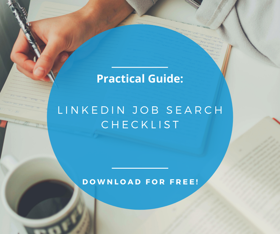 LinkedIn Job Search checklist